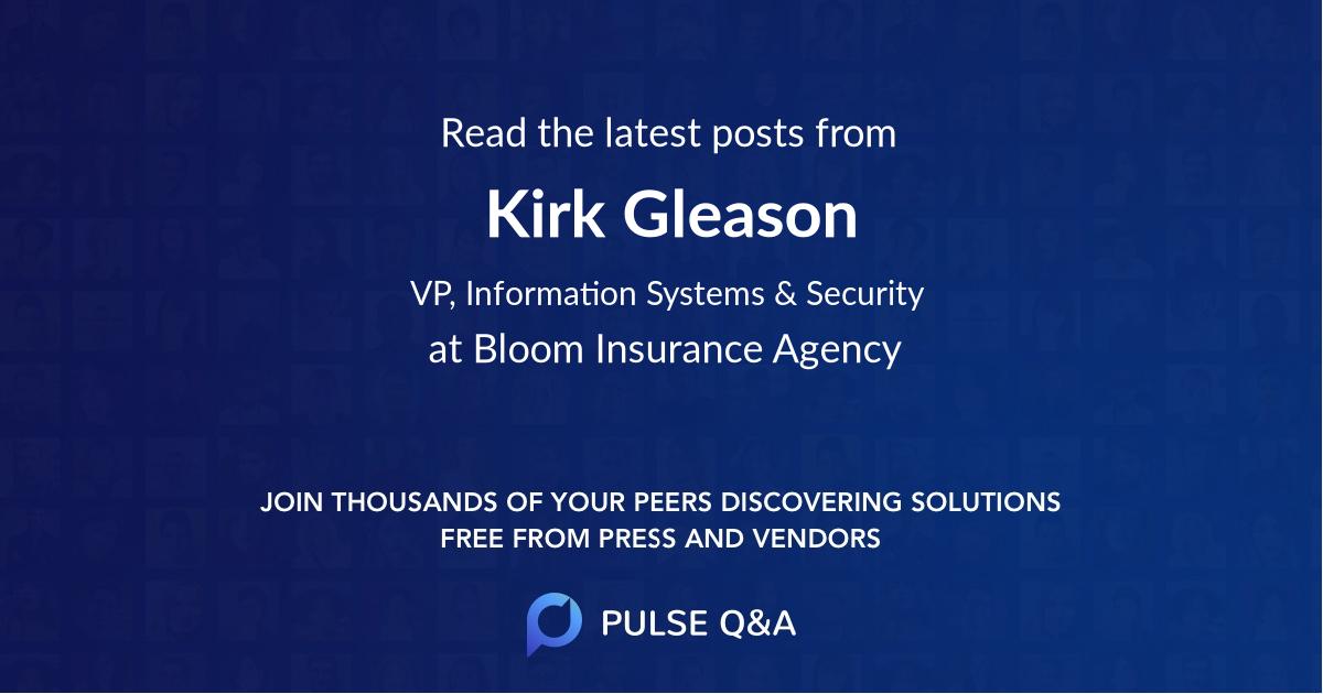 Kirk Gleason