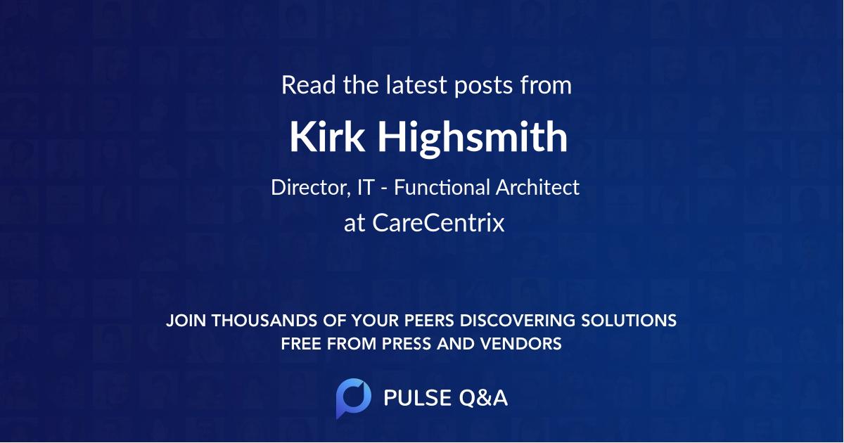 Kirk Highsmith