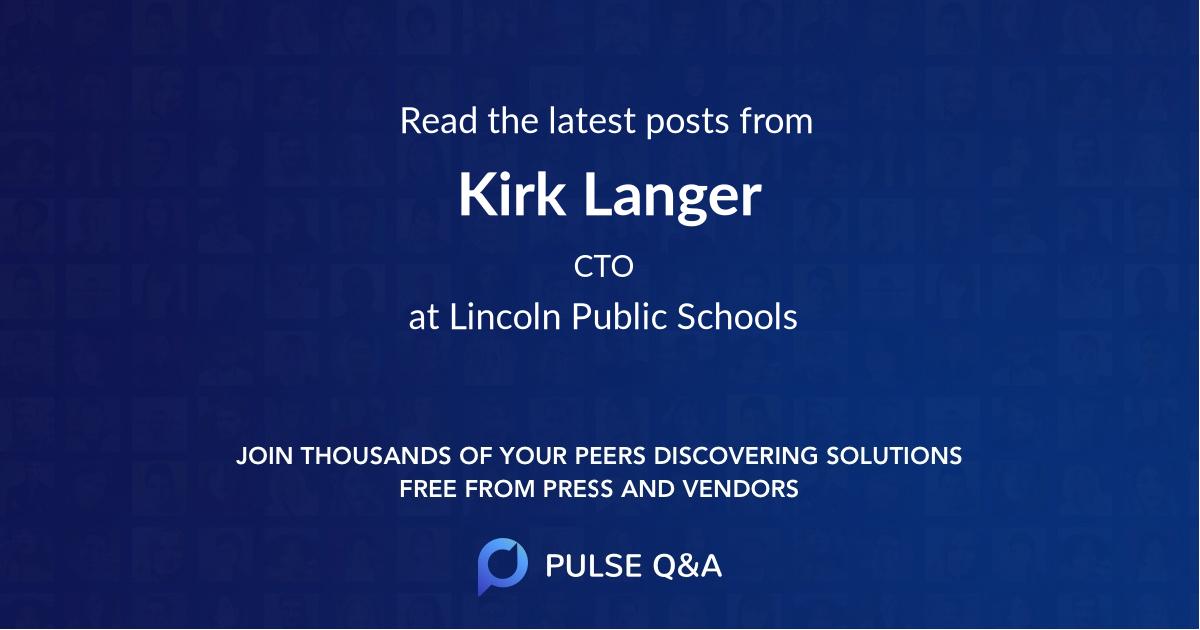 Kirk Langer