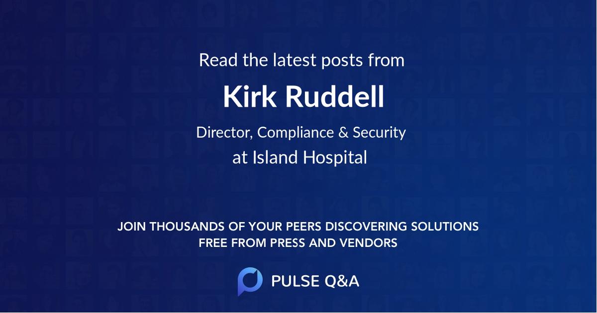 Kirk Ruddell