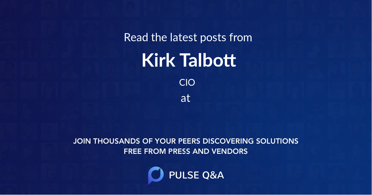 Kirk Talbott