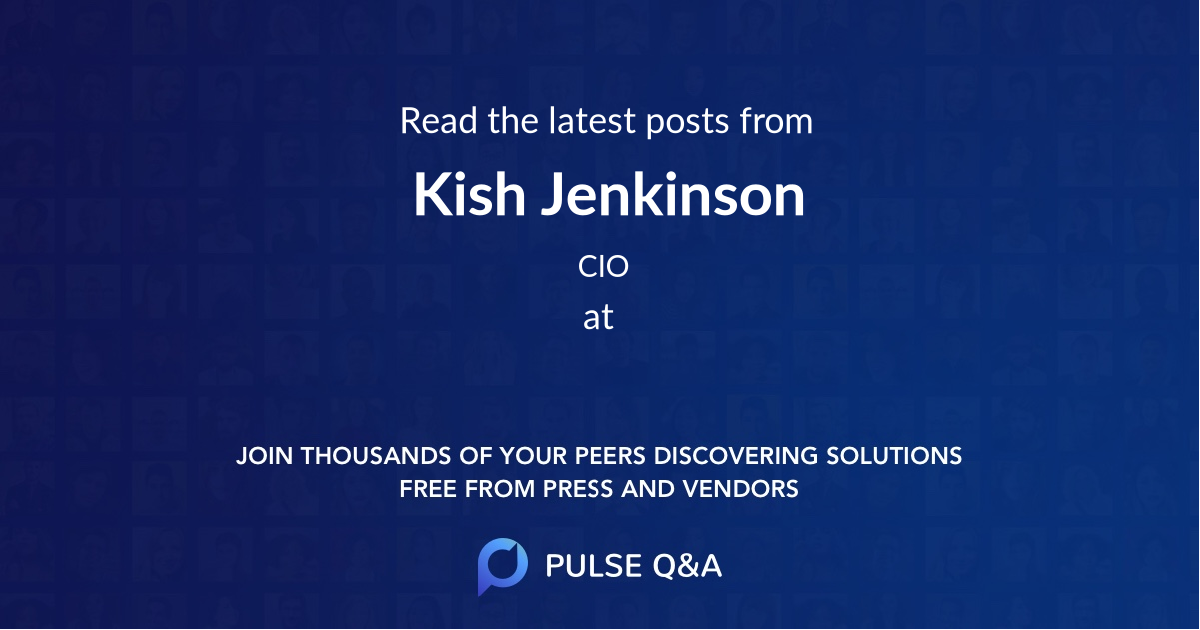 Kish Jenkinson