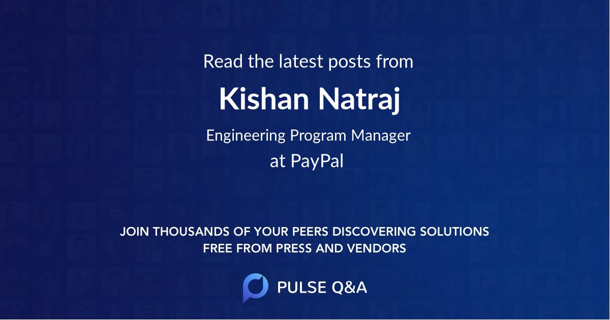 Kishan Natraj