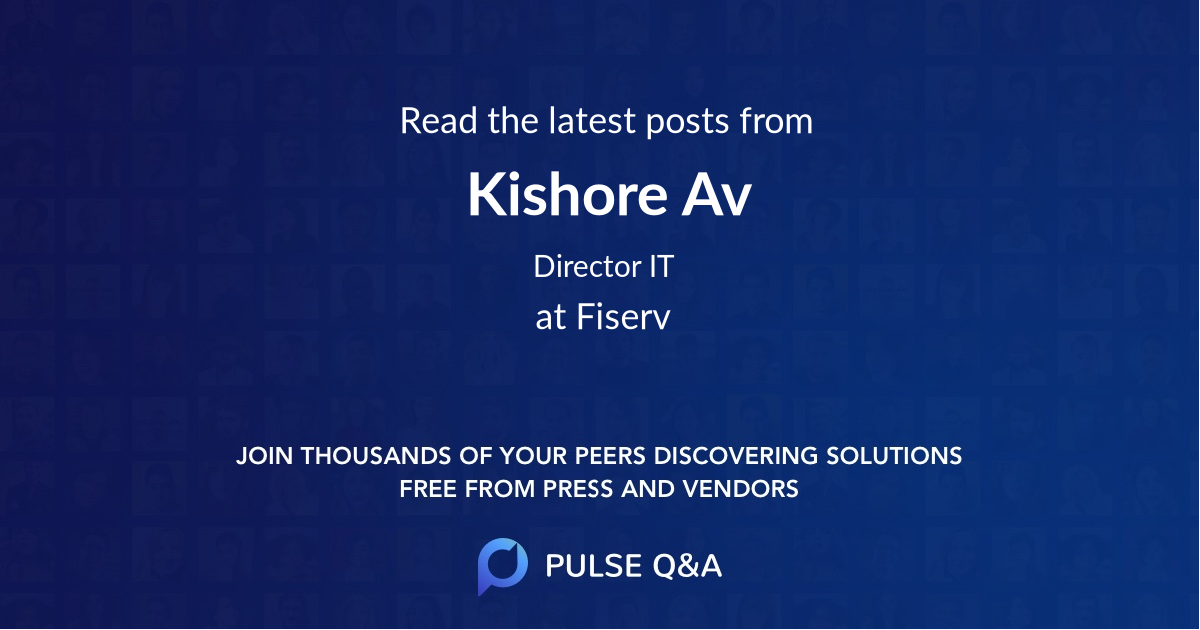 Kishore Av