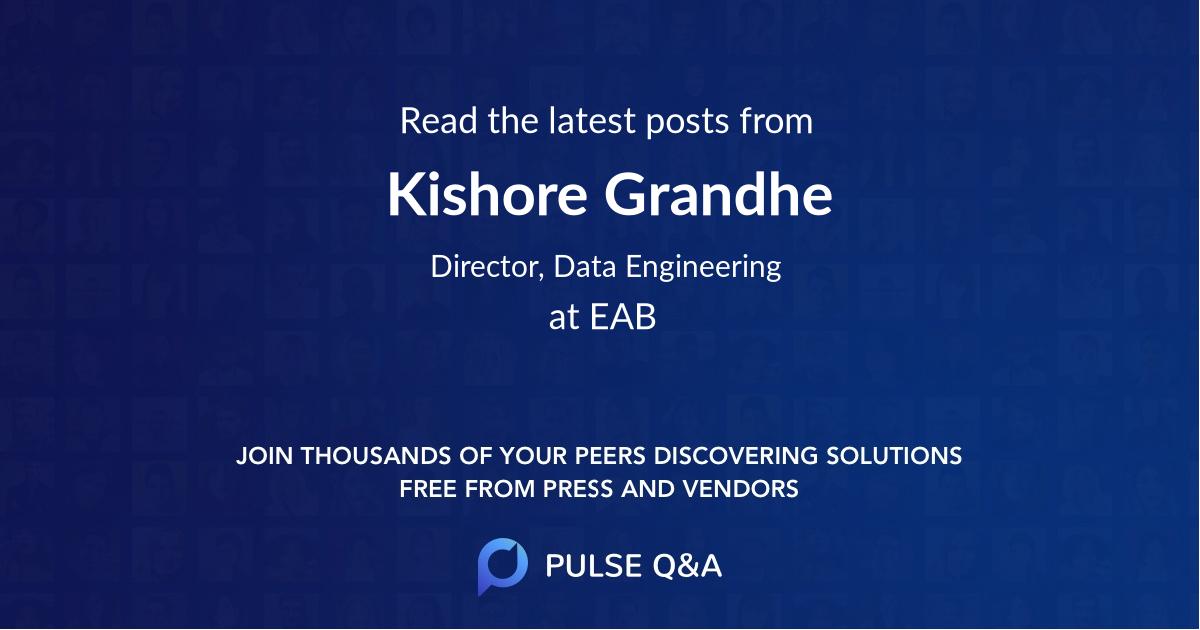 Kishore Grandhe