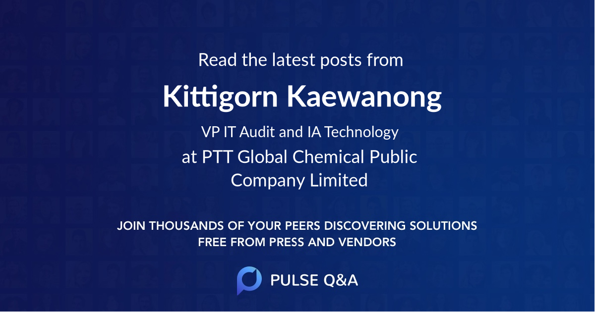 Kittigorn Kaewanong