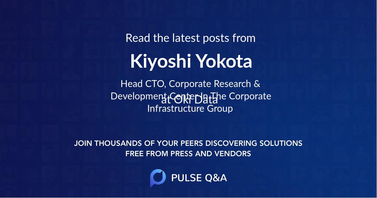 Kiyoshi Yokota
