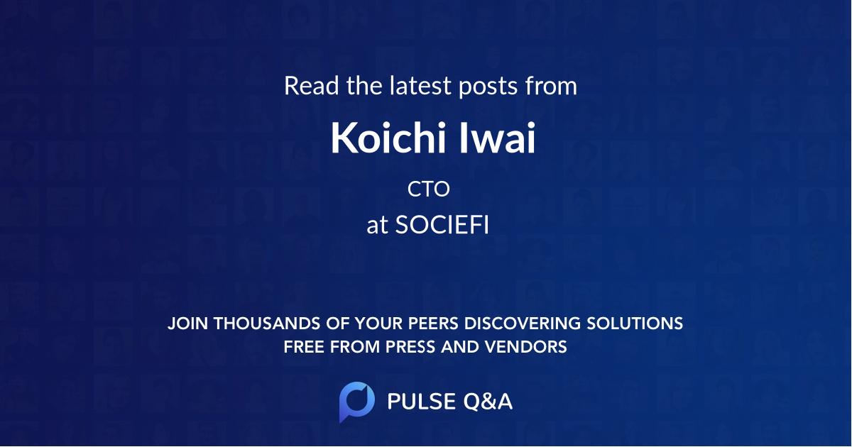 Koichi Iwai