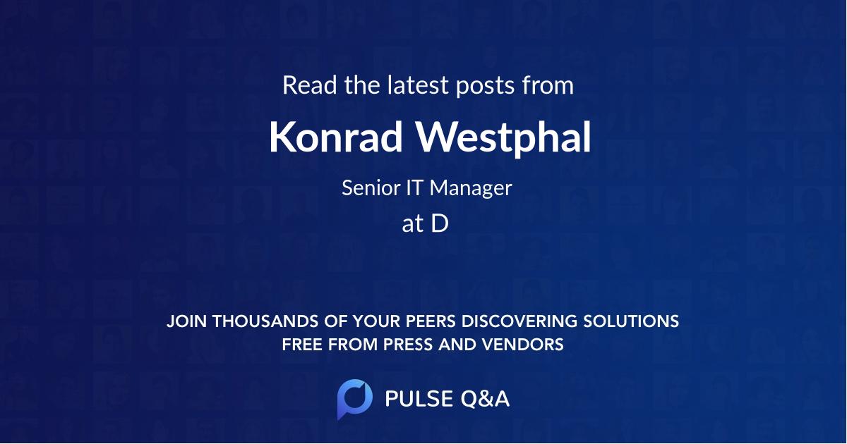 Konrad Westphal