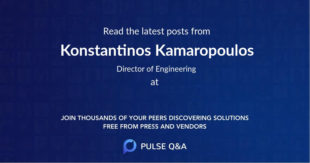 Konstantinos Kamaropoulos