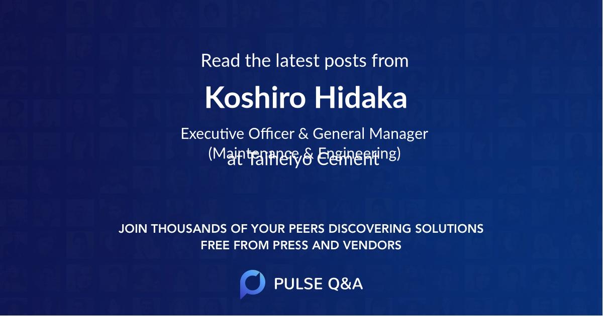 Koshiro Hidaka