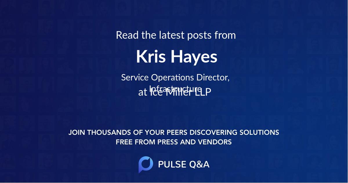 Kris Hayes