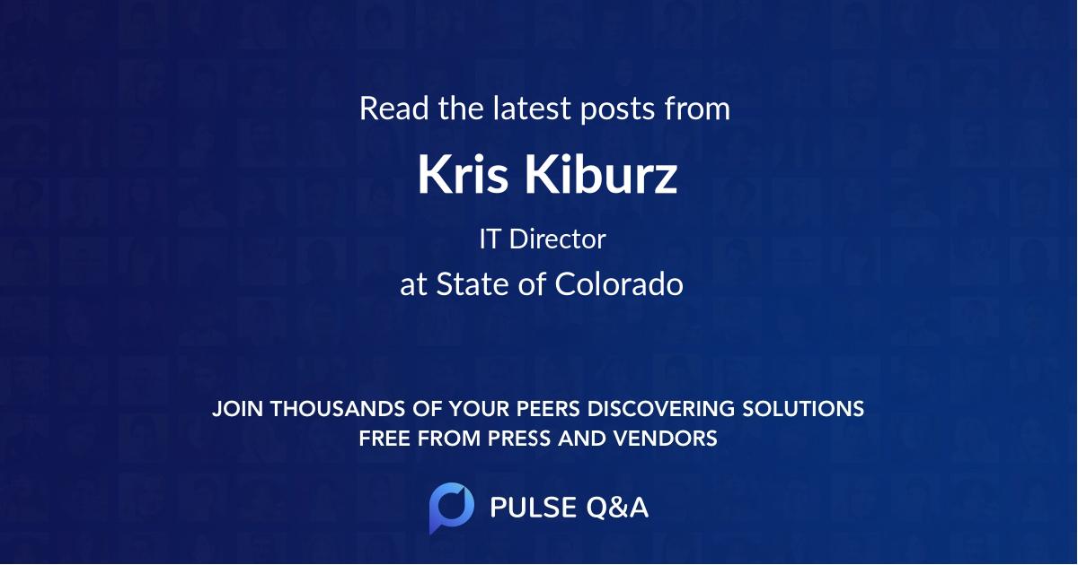 Kris Kiburz