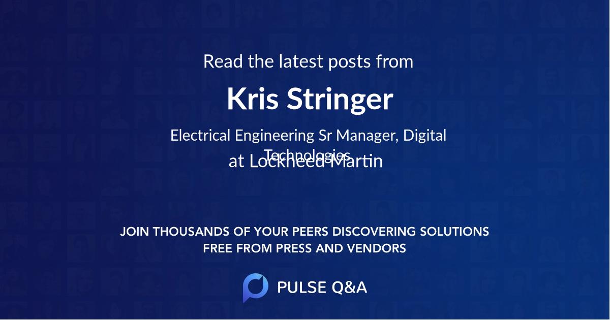 Kris Stringer