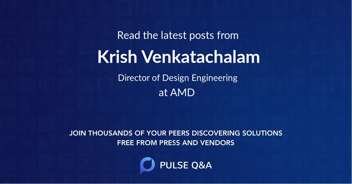 Krish Venkatachalam