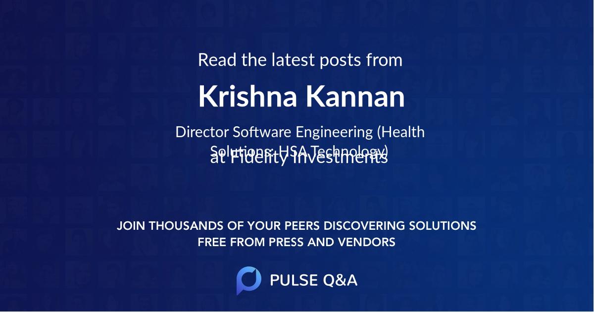 Krishna Kannan