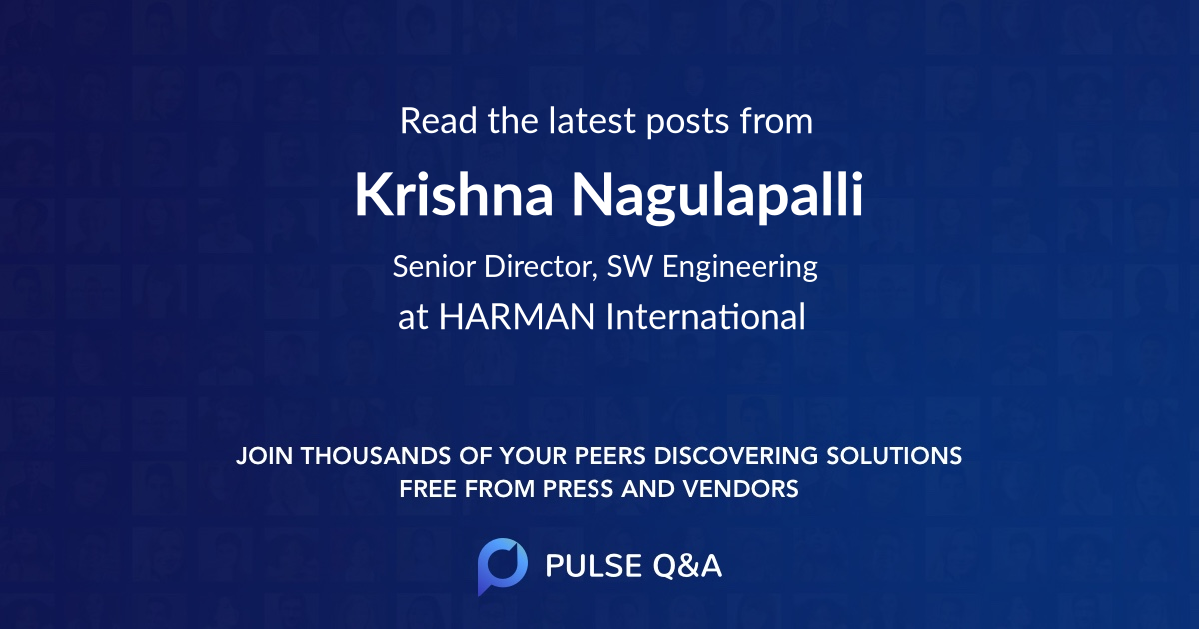 Krishna Nagulapalli