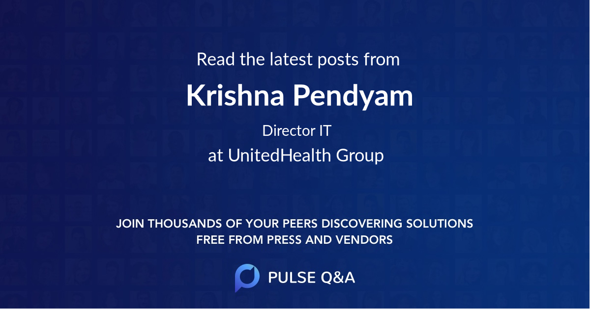 Krishna Pendyam