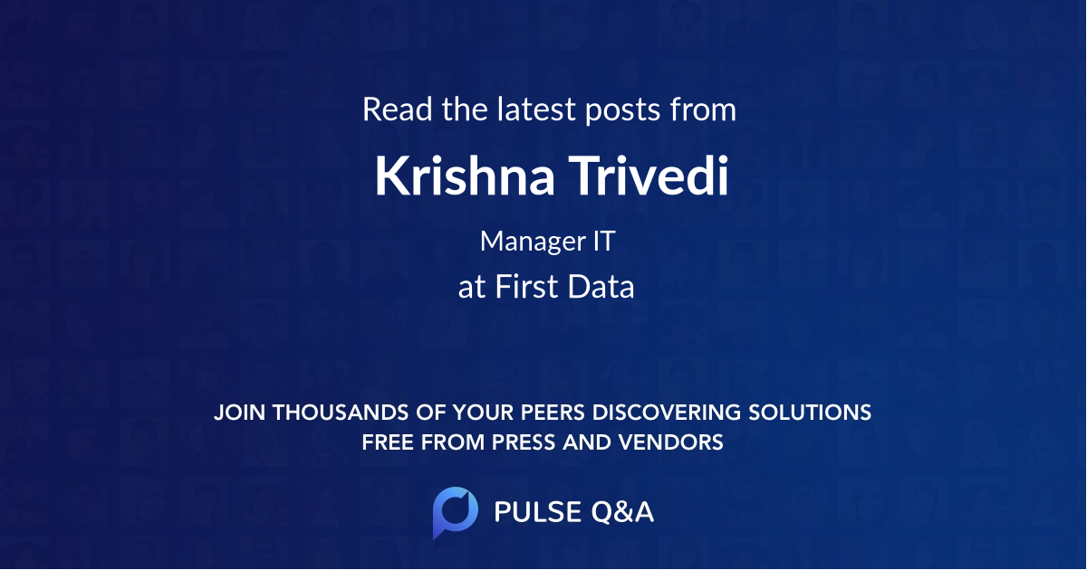 Krishna Trivedi