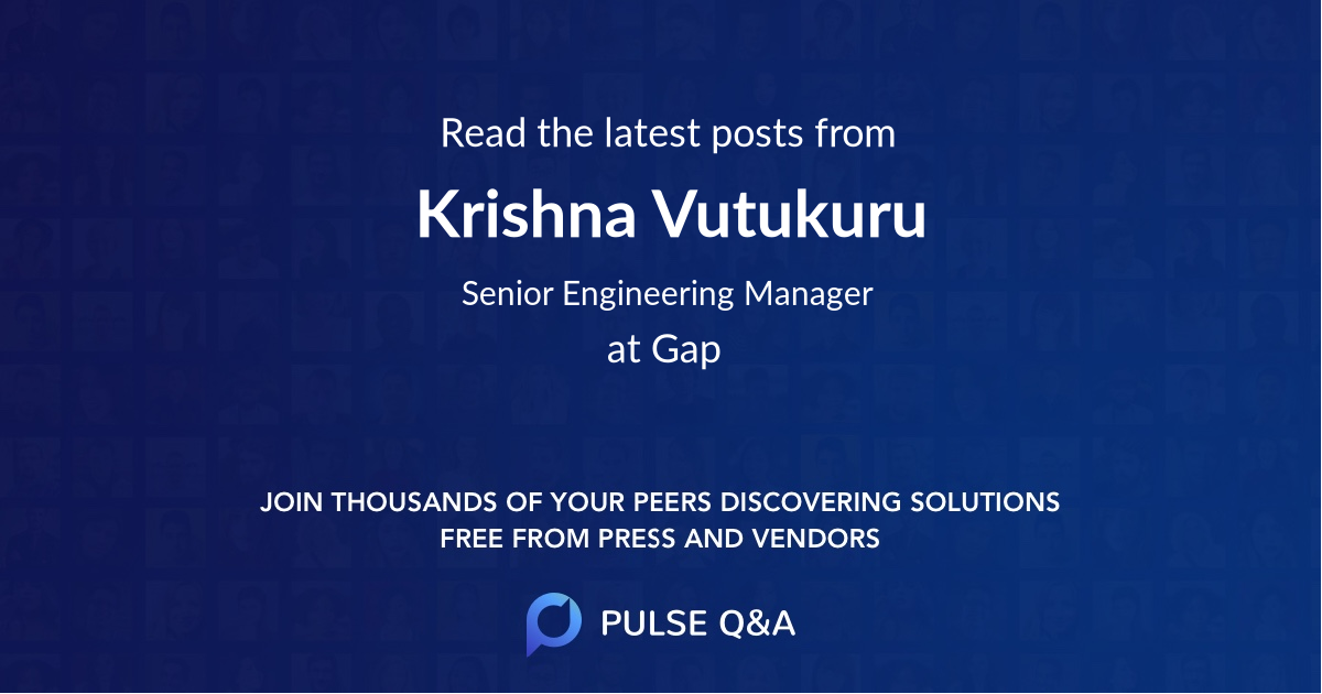 Krishna Vutukuru