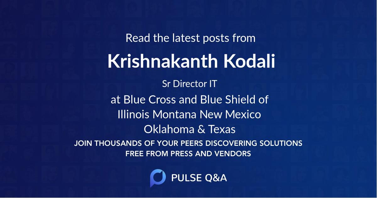 Krishnakanth Kodali