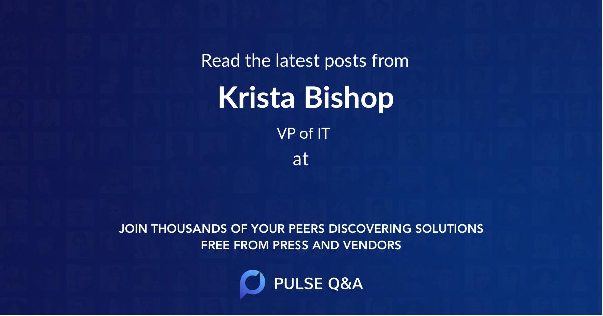 Krista Bishop