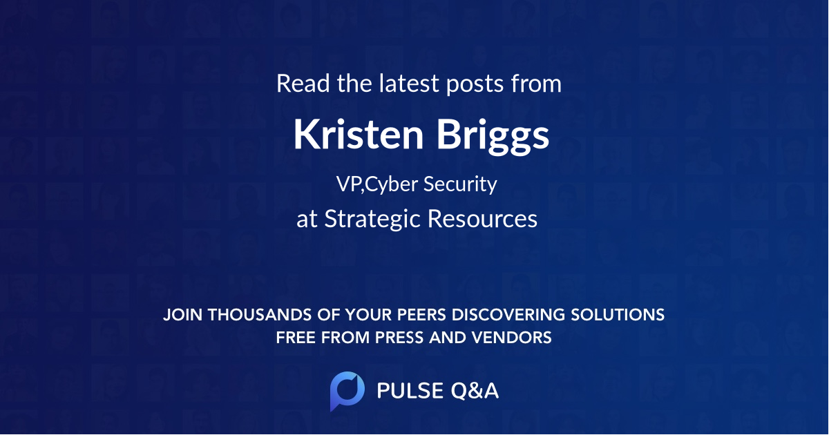 Kristen Briggs