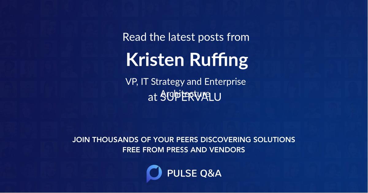 Kristen Ruffing