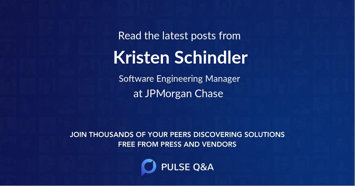 Kristen Schindler