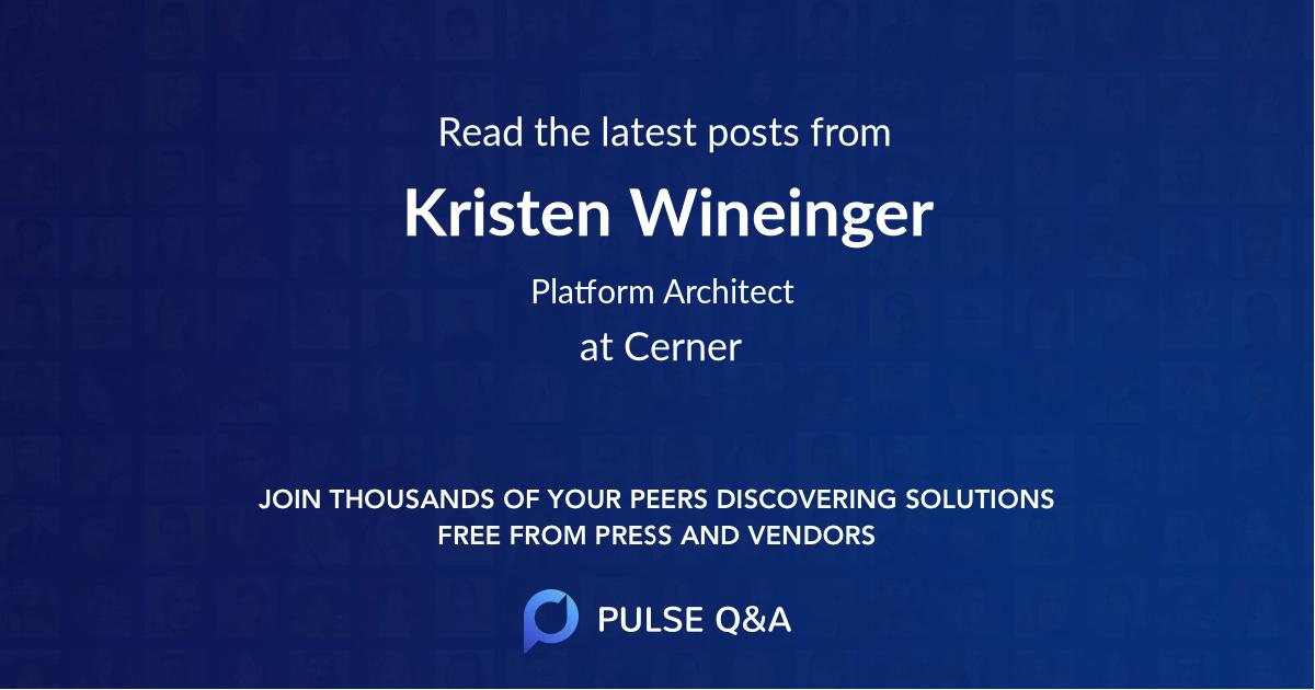 Kristen Wineinger