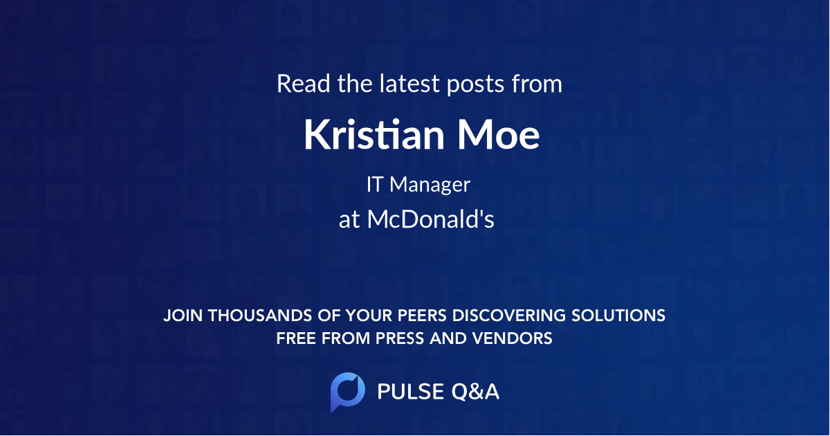 Kristian Moe