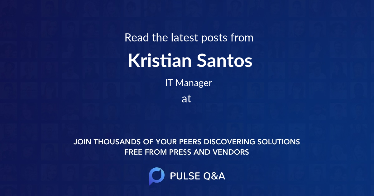 Kristian Santos