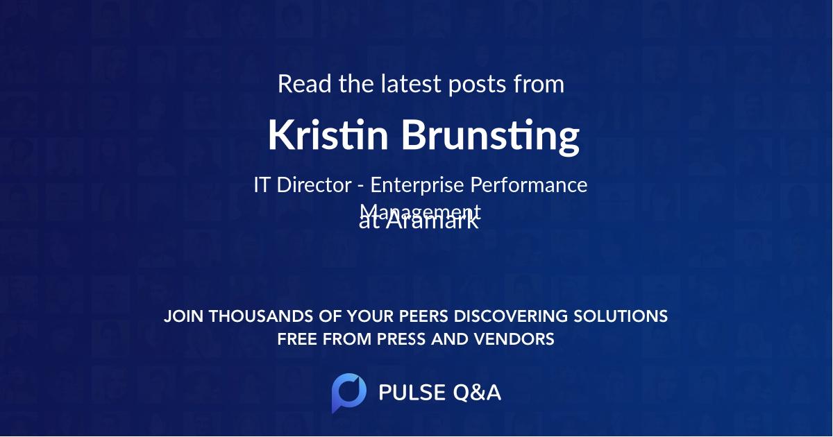 Kristin Brunsting