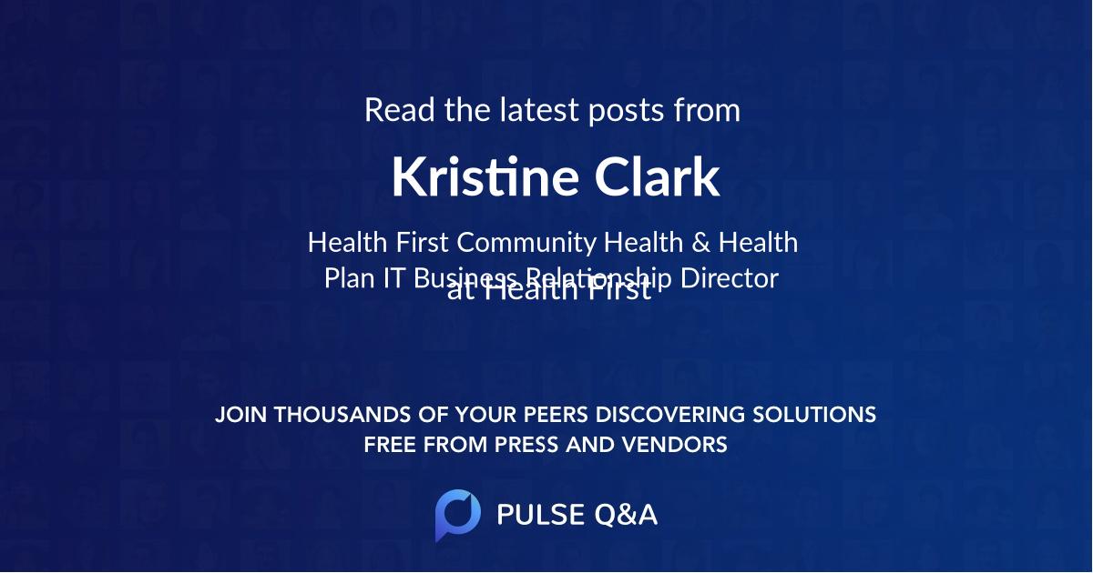 Kristine Clark