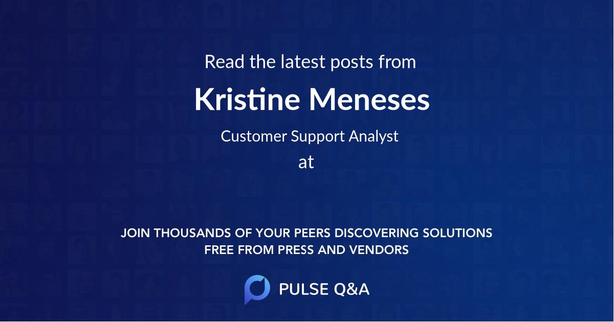 Kristine Meneses