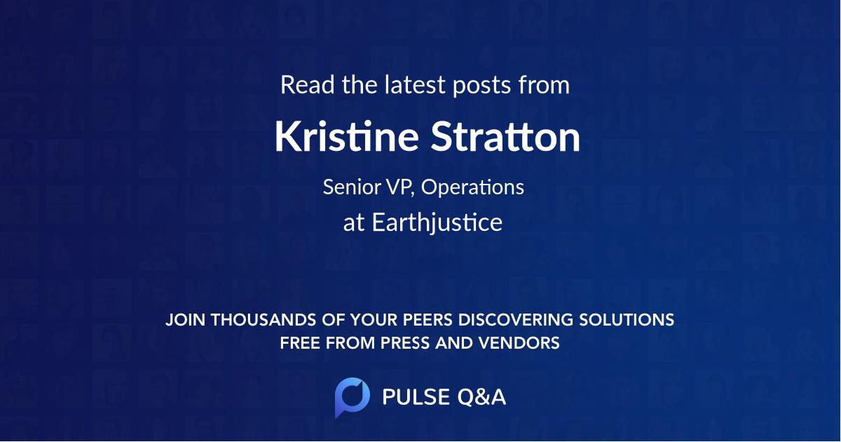 Kristine Stratton