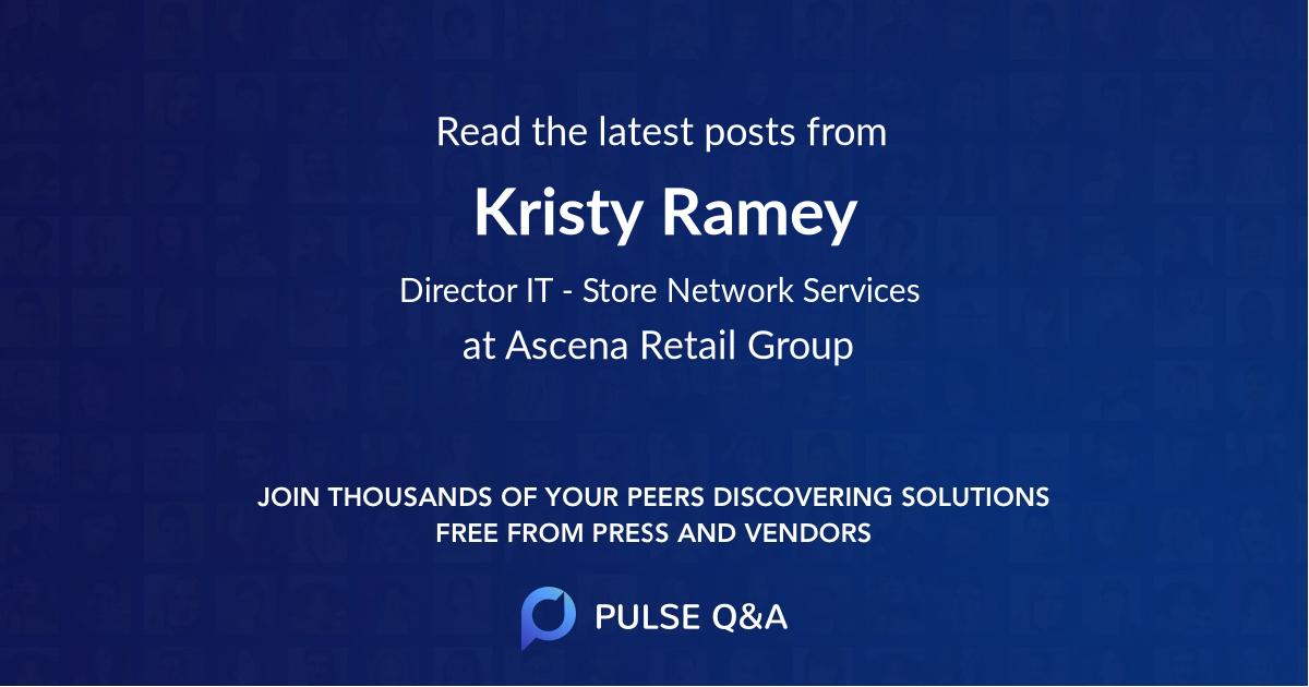 Kristy Ramey