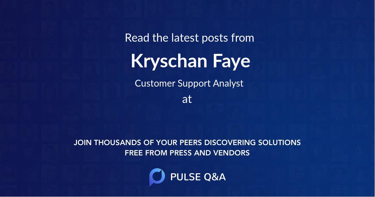 Kryschan Faye