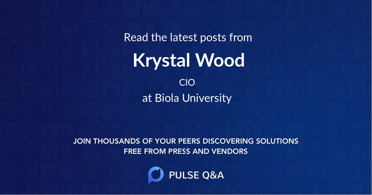 Krystal Wood