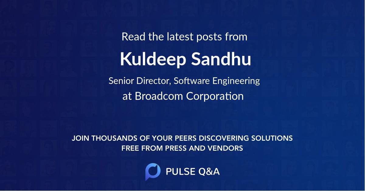 Kuldeep Sandhu