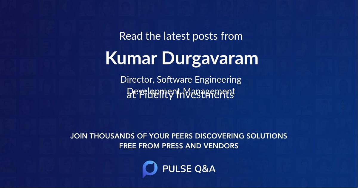 Kumar Durgavaram