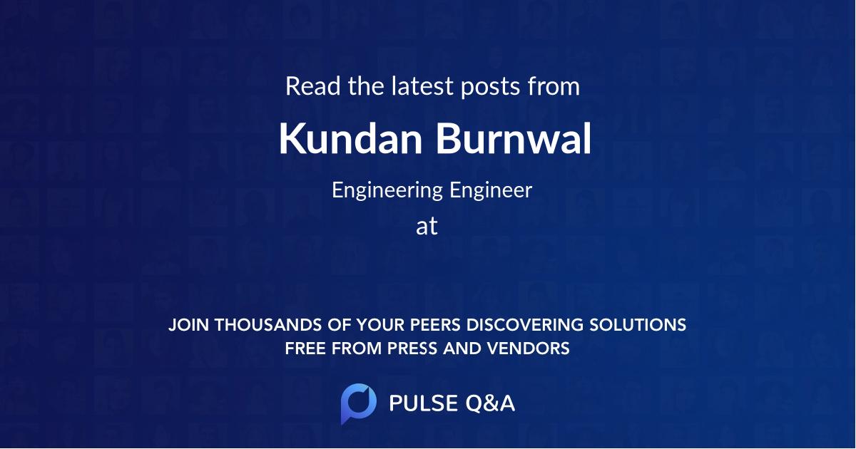 Kundan Burnwal