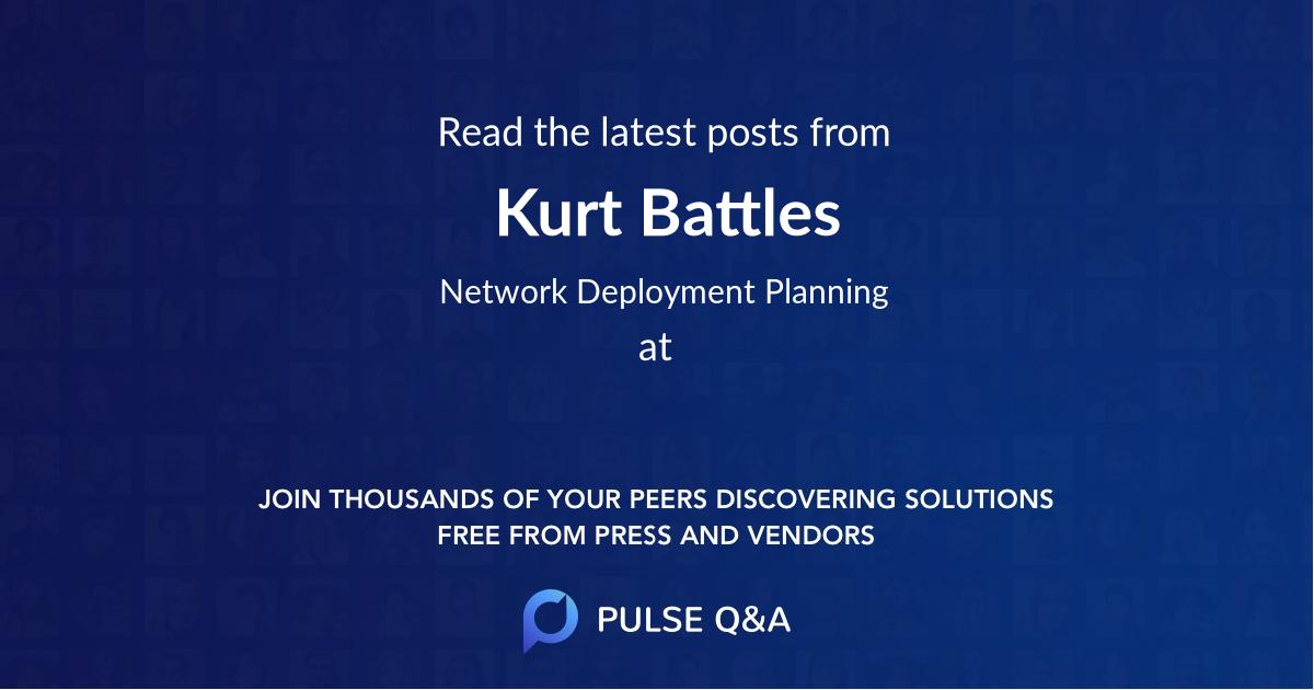 Kurt Battles