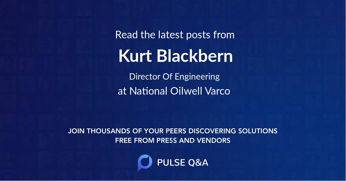 Kurt Blackbern
