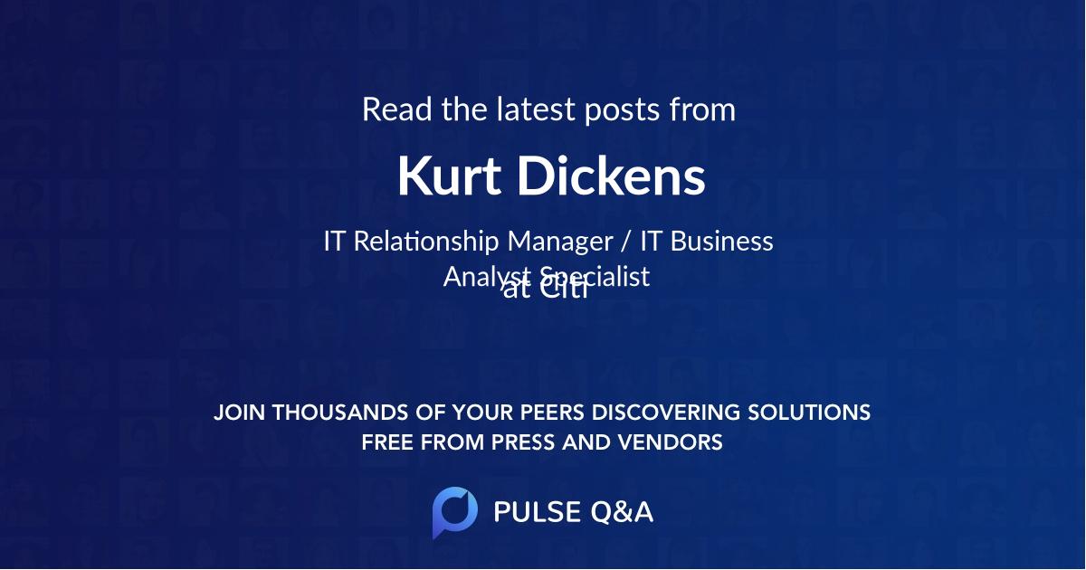 Kurt Dickens