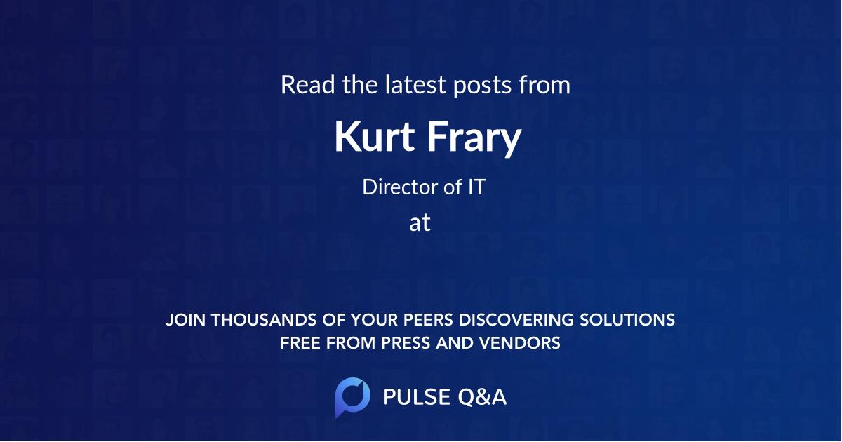 Kurt Frary