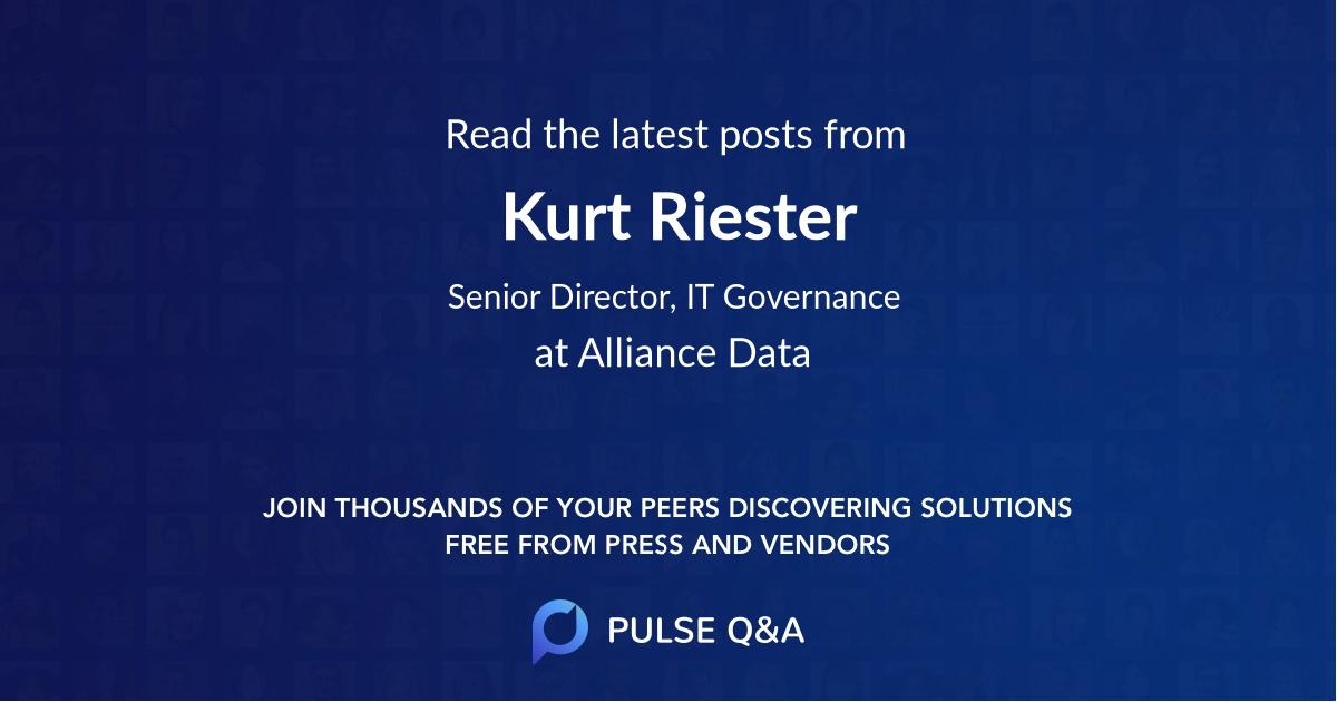 Kurt Riester