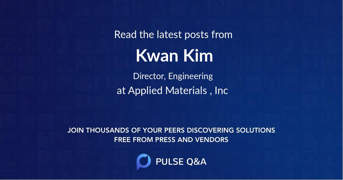 Kwan Kim