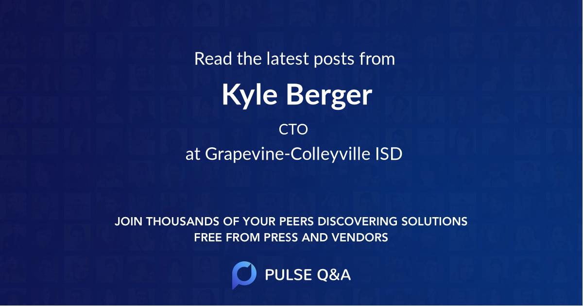 Kyle Berger