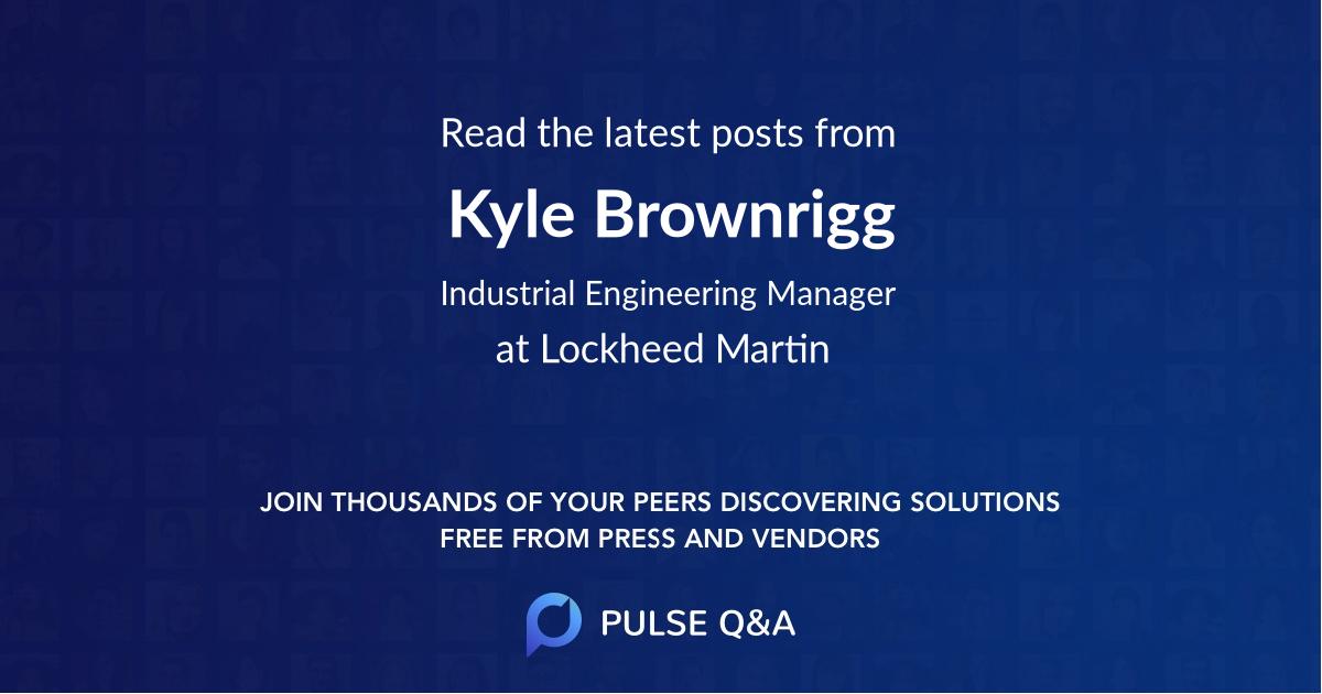 Kyle Brownrigg